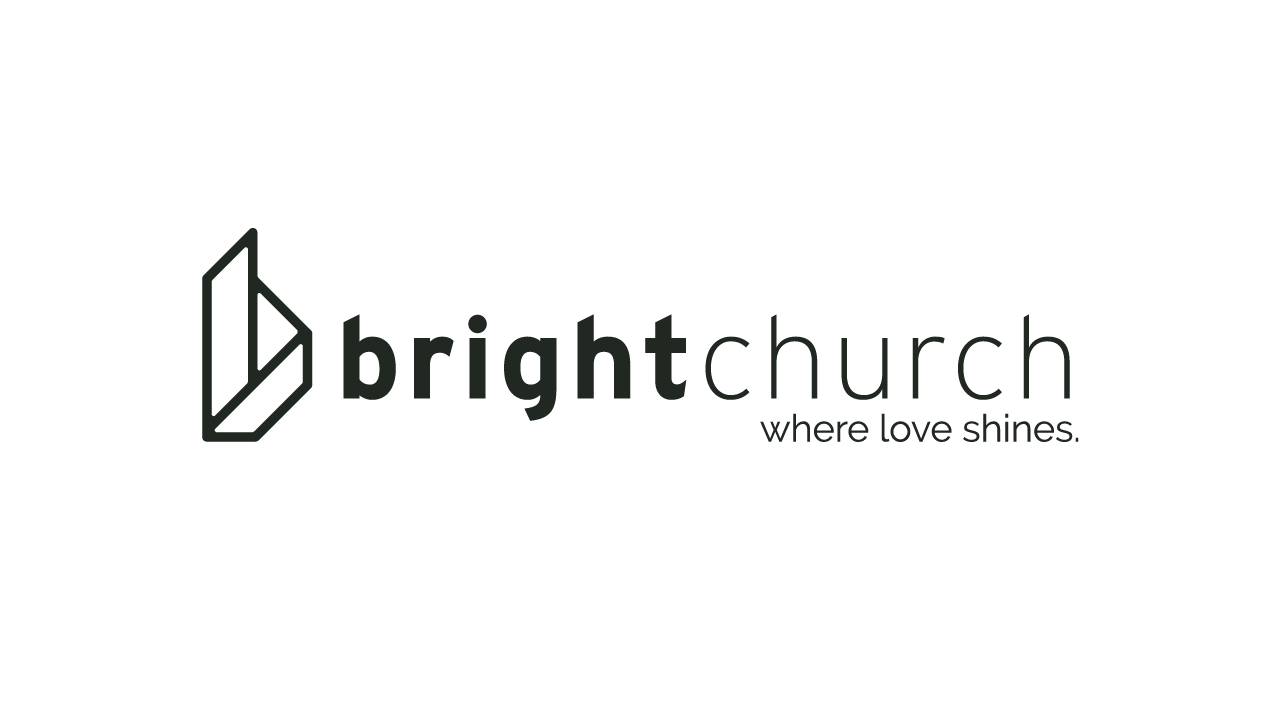 Bright Church - Logo - Black on White