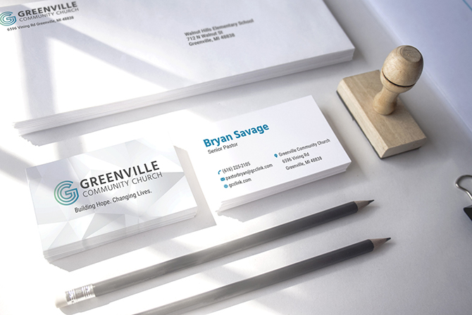 Greenville Community Church - Stationery