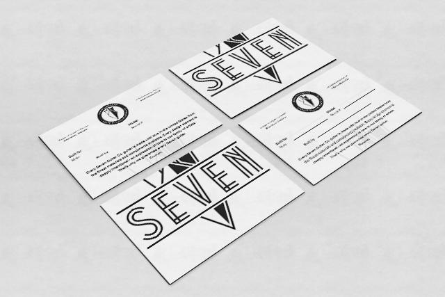 Seven Guitar Co. - Warranty Card