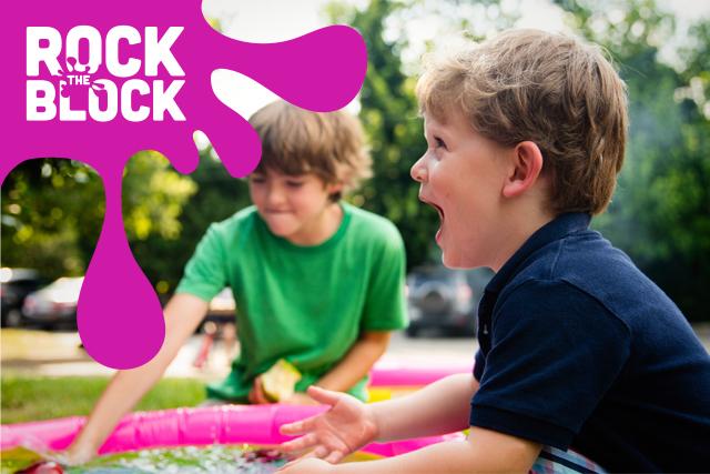Rock the Block - Secondary Mark on Photo