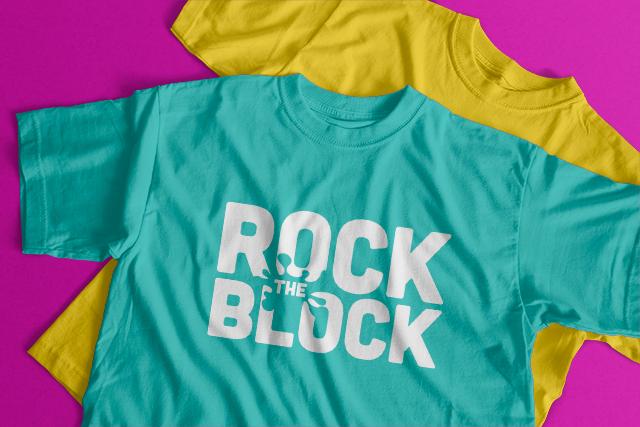 Rock the Block - T-Shirt