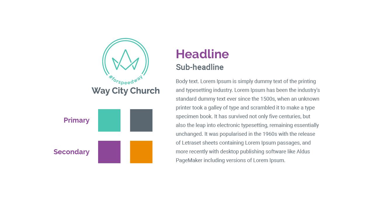 Way City Church - Visual Identity